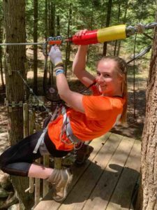 Adirondack Extreme Zip line obstacle