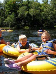 Kids Tubby Tubing River Tubing Lake George Area