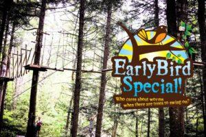 Early Bird Adventure Course Specials logo